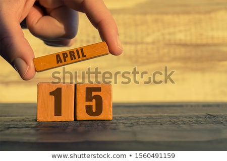 Stockfoto: Kalender · Rood · witte · icon · tabel