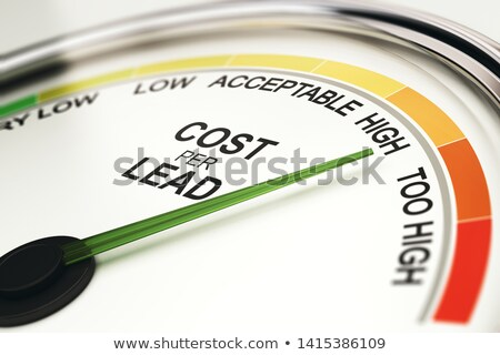 Reduce CPL, Cost Per Lead Stock photo © olivier_le_moal