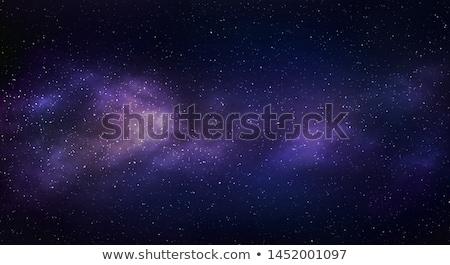 Stock photo: Beautiful nebula, stars and galaxies.
