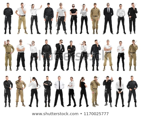 Collage Of Security Guards Stock photo © AndreyPopov