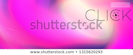 Abstract shiny color spectrum wave design element Stock photo © fresh_5265954