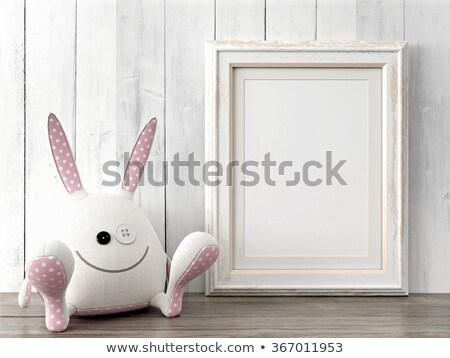 child in hall with white frames Stock photo © Paha_L
