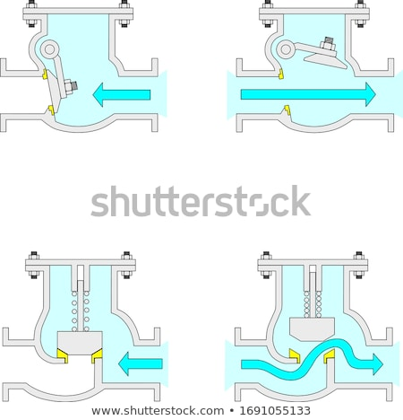Gas check valve Stock photo © vrvalerian