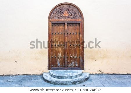 door in Zanzibar Stock photo © prill