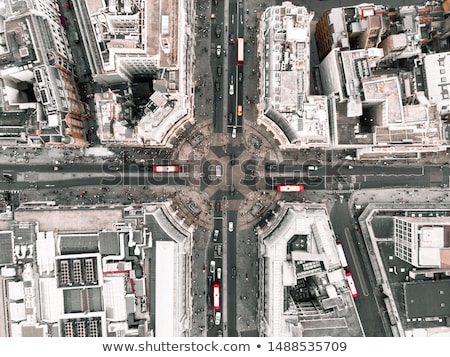 aerial view of London Stock photo © prill