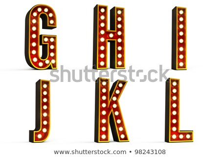 Alphabet Set - Part 2 Stock photo © creisinger