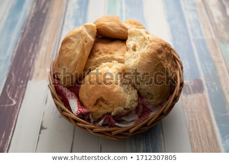 хлеб изюм изолированный белый продовольствие Сток-фото © ivonnewierink