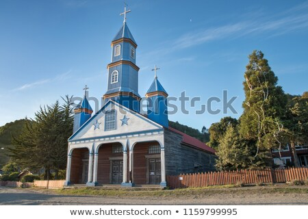 Kerk Chili Santiago Stockfoto © kwest