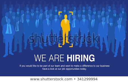 Job seeking concept Stock photo © bbbar