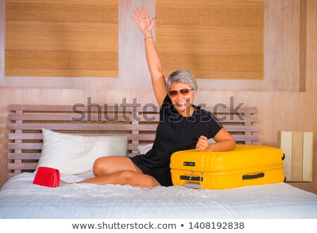 Happiness has arrived Stock photo © raywoo
