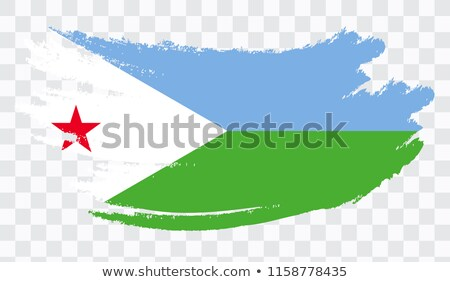 Гранж Джибути флаг стране официальный цветами Сток-фото © speedfighter