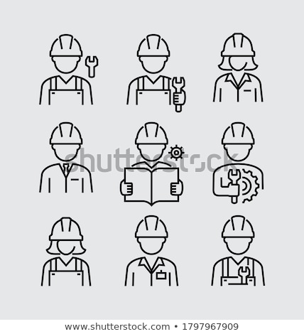 Woman with helmet Stock photo © photography33