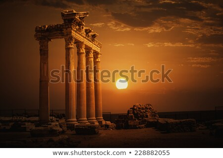 Temple of Apollo in ancient Side Stock photo © sophie_mcaulay
