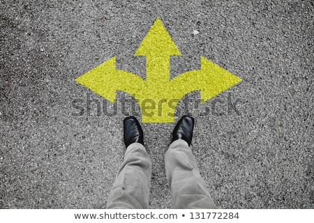 Road Sign with Three Options stock photo © Quka