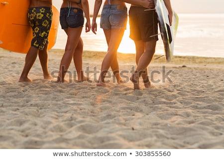 クローズアップ 女性 リア 着用 水着 ファッション ストックフォト © wavebreak_media