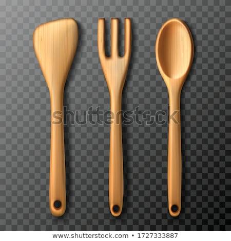 cucina · legno · strumenti · ceramica · jar · bianco - foto d'archivio © doupix