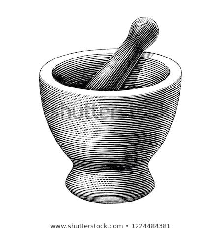 metal · odizolowany · biały · tle · kuchnia · muzyka - zdjęcia stock © muang_satun