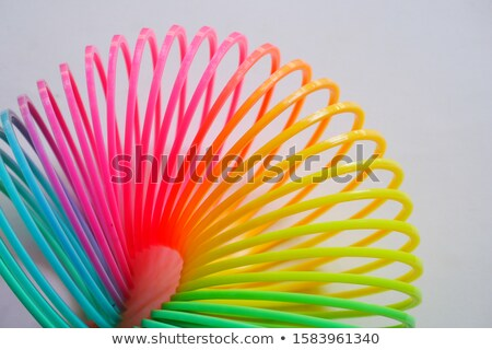 красочный пластиковых игрушками изолированный белый дизайна Сток-фото © oly5