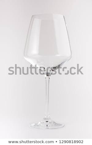 Raro antiguos copa de vino aislado blanco fiesta Foto stock © gsermek