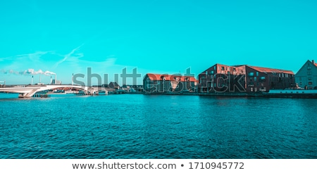 Old heat and power plant in Denmark Stock photo © jeancliclac
