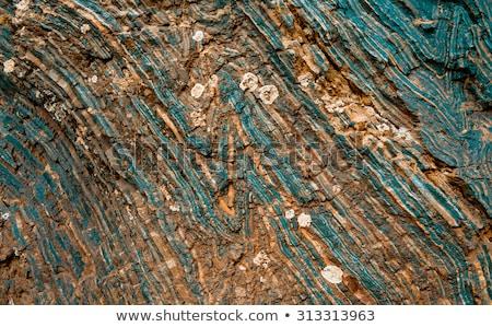 természetes · réz · textúra · szép · építkezés · természet - stock fotó © jonnysek
