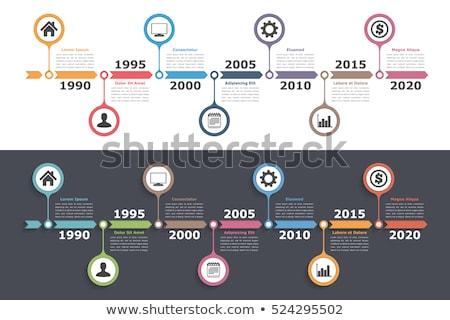 時間 行 情報をもっと見る グラフィックス 実例 テンプレート ストックフォト © Zebra-Finch