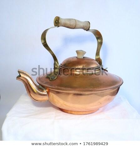 Tea retro klasszikus stílus asztal pihen Stock fotó © feelphotoart