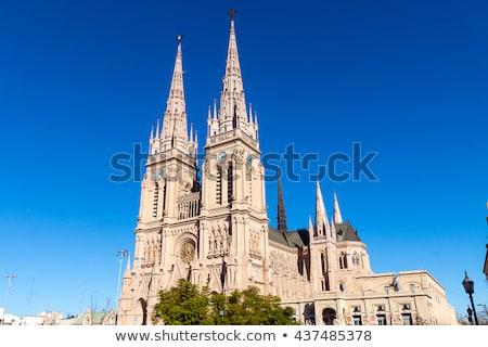 templom · Buenos · Aires · égbolt · város · városi · történelem - stock fotó © elxeneize