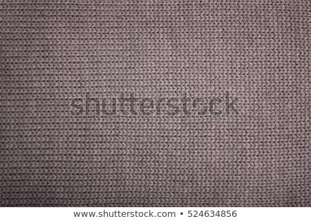 texture knitted woolen fabric Stock photo © nikolaydonetsk