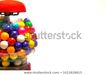Gumball Machine with Rainbow Colors Stock photo © JamiRae