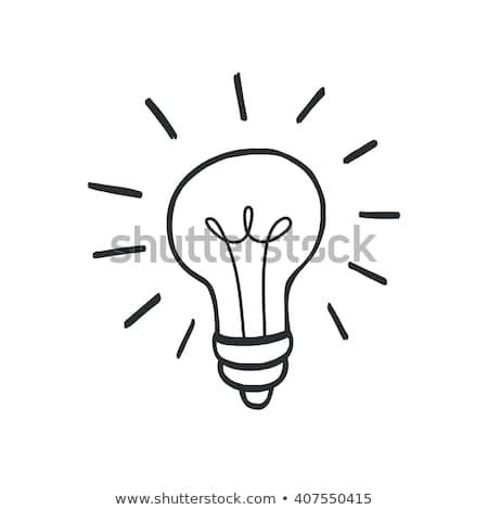 Light-bulb Doodle Stock photo © AlphaBaby