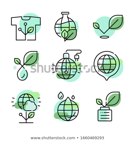 file sign green vector icon design stock photo © rizwanali3d