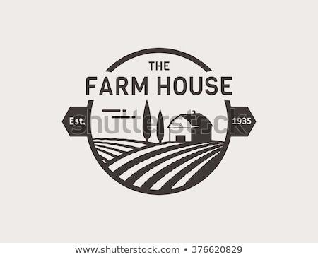 Farm logo and emblem Stock photo © netkov1