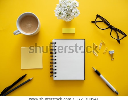 simples · trabalhar · tabela · topo · ver - foto stock © szefei