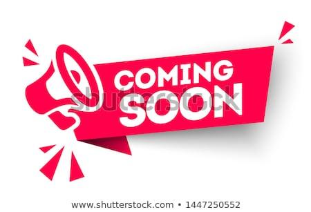 novo · produto · em · breve · anúncio · logo - foto stock © zerbor