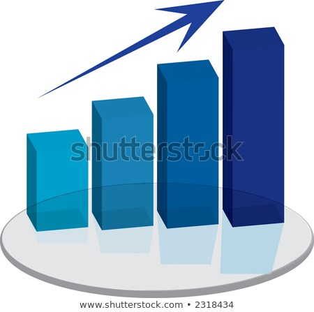 Pound Gain Shows Financial Report And Diagram Stock photo © stuartmiles