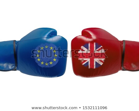 A boxing match between the European Union and the UK Stock photo © Zerbor