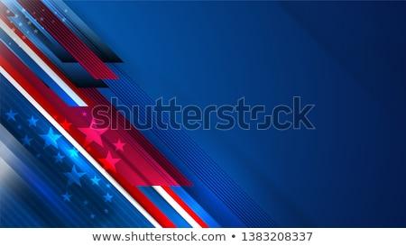 полосатый звезды коричневый черный баннер Сток-фото © blackmoon979