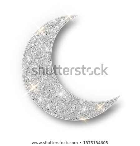 On a silver moon. Stock photo © Fisher
