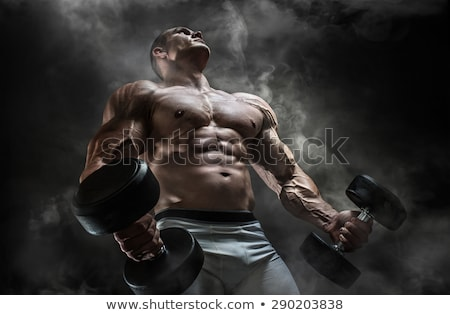 Muscle man. Stock photo © Fisher