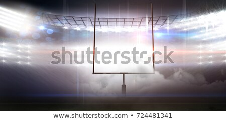 цифровой изображение цель пост американский футбола Сток-фото © wavebreak_media