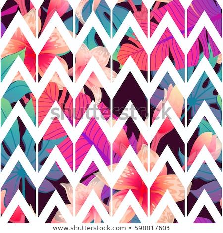 Abstract zig-zag pattern buio Foto d'archivio © SArts