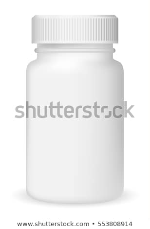 Plastic Box Container Medical Vector Illustration Stock photo © robuart