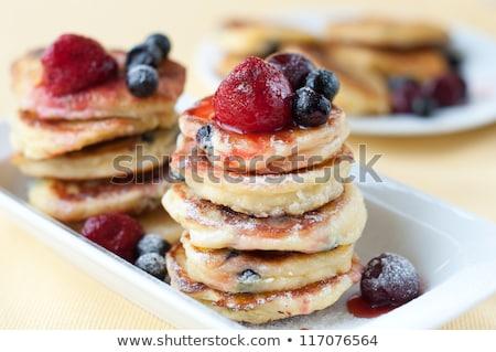 homemade vanilla pancakes stock photo © yuliyagontar