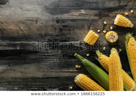 подробность · зеленые · листья · лист · зеленый · листьев · еды - Сток-фото © danielgilbey
