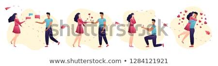 Pessoas relação on-line teia vetor Foto stock © robuart