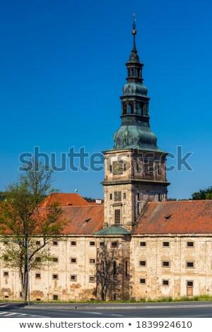 Cistercian monastery, Plasy, Czech republic Stock photo © borisb17