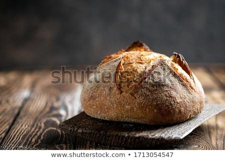 Loaf of a sourdough bread Stock photo © grafvision