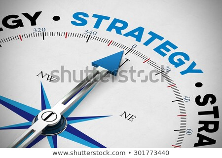Business Strategy and Orientation Concept Stock photo © olivier_le_moal