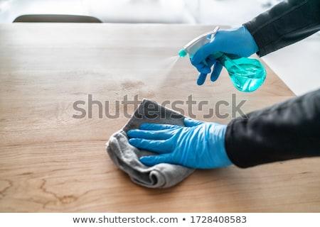 Tüm amaç temizleyici dezenfektan sprey şişe Stok fotoğraf © Maridav